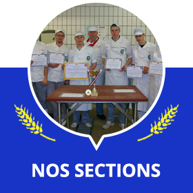 Nos sections